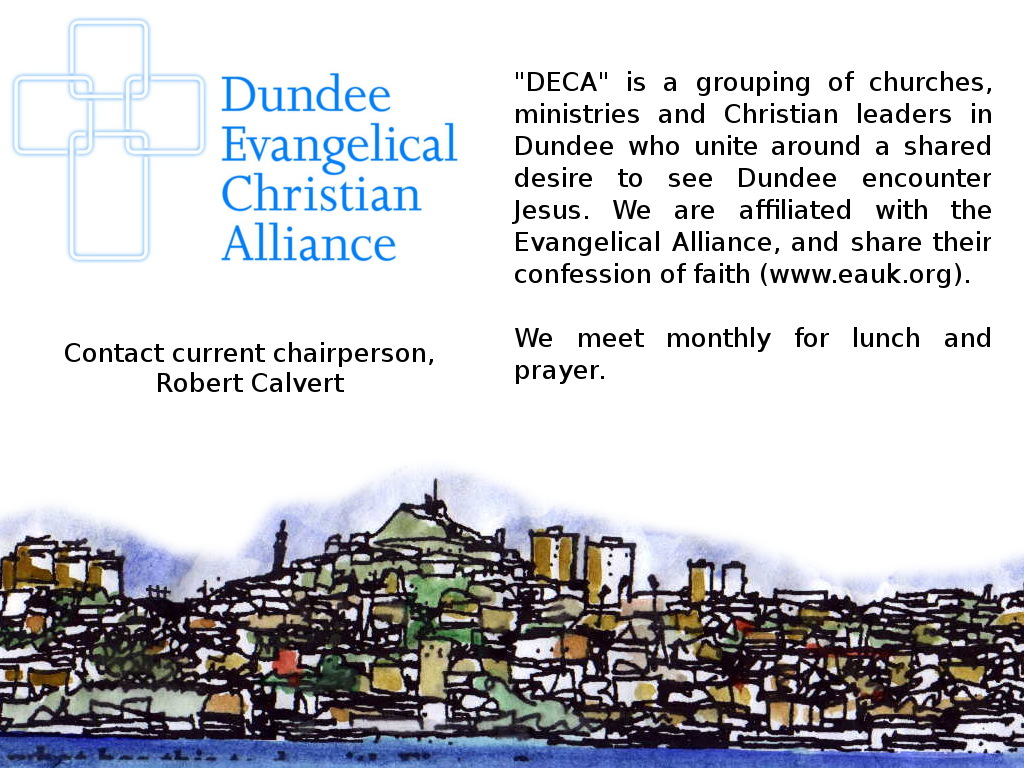 Dundee Evangelical Christian Alliance Front Page